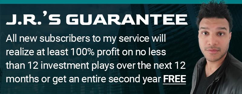 J.R.'s 10X Guarantee Graphic